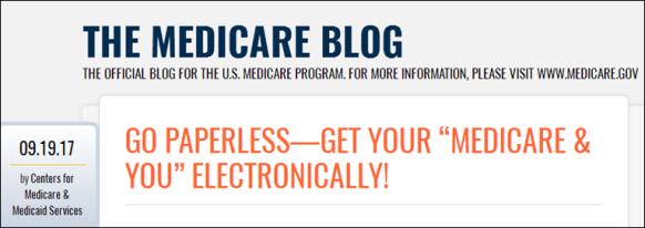 Medicare blog